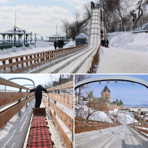 Les Glissades de la Terrasse_Old Québec_Canada