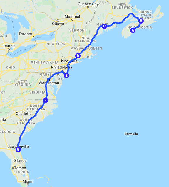 Roadtrip Map 23