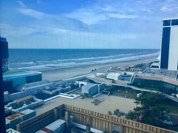 View from Centurion Tower, Premium, Ocean View, Two Queens Room_Caesars Atlantic City Hotel & Casino_New Jersey_America