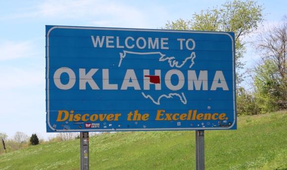 Oklahoma State Sign_America