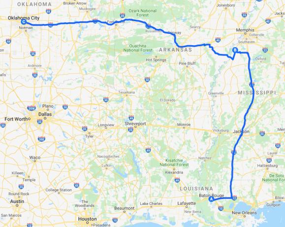 Roadtrip Map 26