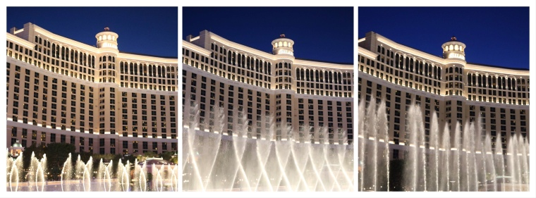 Bellagio Fountains at Night_Las Vegas_America