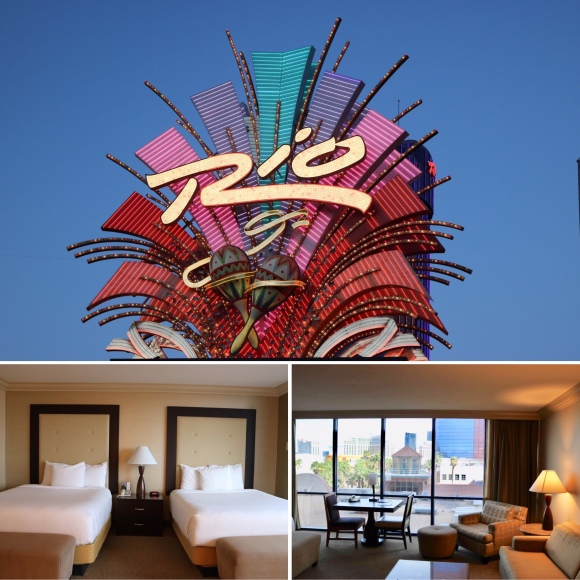 Deluxe Masquerade Tower, Two Queens, Non-Smoking Room_Rio All Suite Hotel and Casino_Las Vegas_Nevada_America