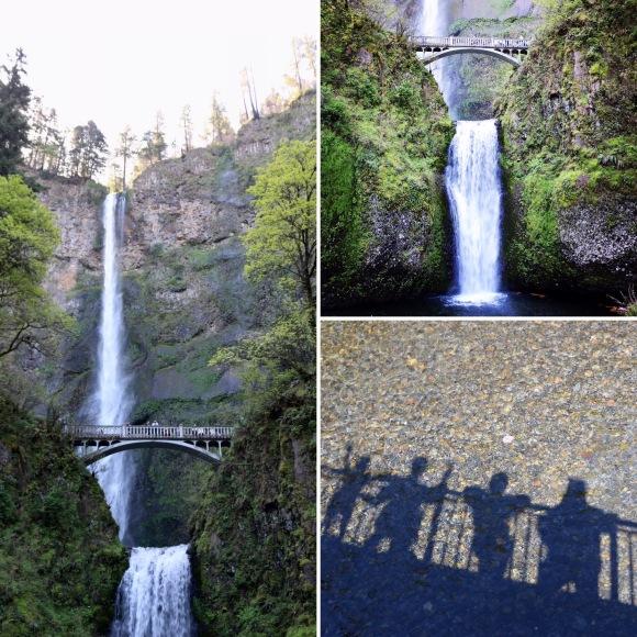 Multnomah Falls_Portland_Oregon_America