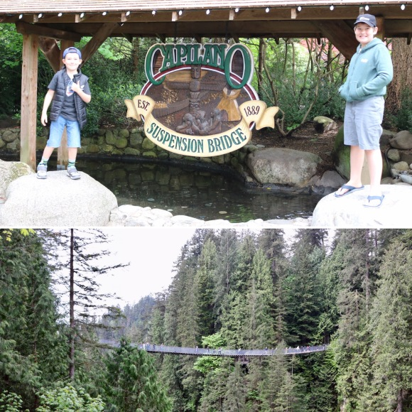Capilano Suspension Bridge Park_Vancouver_British Columbia_Canada