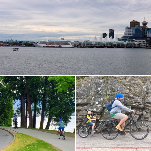 Cycling around Stanley Park_Vancouver_British Columbia_Canada