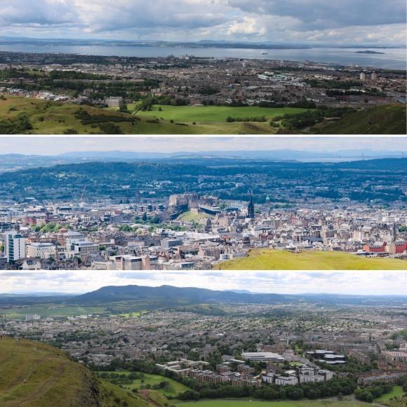 Views from Arthur's Seat_Edinburgh_Scotland