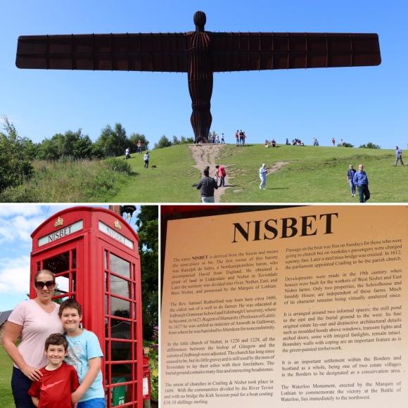 Nisbet Village_Scotland_Angel of the North_England_United Kingdom
